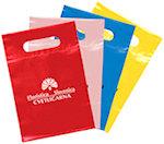 10.5 X 7 Die Cut Plastic Bags